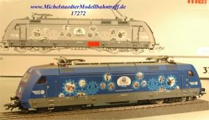 """Märklin 37391 E-Lok BR 101 """"THW"""", (17272)"""