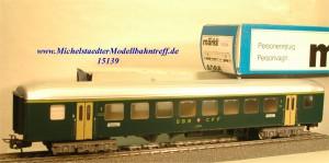 Märklin 4066.2 Personenwagen 1.Kl. SBB, (15139)