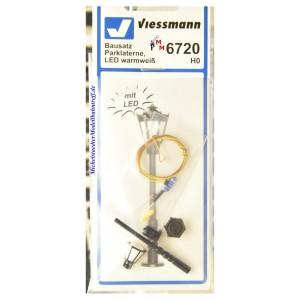 (Neu) Viessmann 6720 Bausatz Parklaterne, H0,