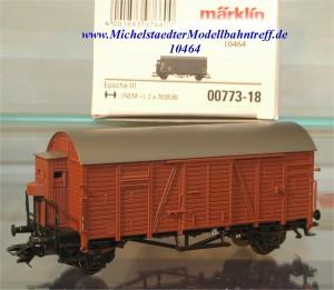 """(Neu) Märklin 00773-18 Güterwagen """"Oppeln"""" Fehldruck, (10464)"""