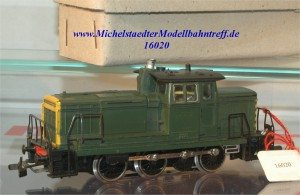 Märklin 3069.4 Diesellok BR 260 SNCB, mit Telex, (16020)