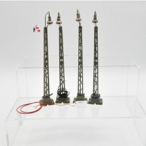 Märklin 7046.2 Bogenlampe mit Gittermast, 4-teilig, (22757)