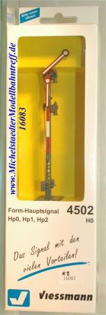 (Neu) Viessmann 4502 Form-Hauptsignal mit Gittermast, (16083)