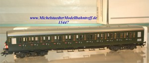 Märklin 43119 Abteilwagen DB mit Schlußlichter, Innenbeleuchtung (15447)