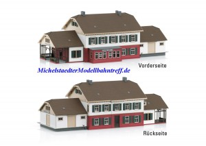 (Neu) Märklin 72793 Bausatz Bahnhof Himmelreich,