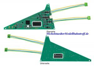 (Neu) Märklin 74466 Einbau-Digital-Decoder für C-Gleis Dreiwegweichen,
