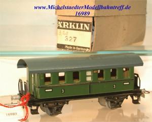 Märklin 327K5 Plattformwagen, (16989)