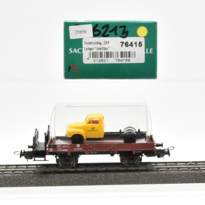 Sachsenmodelle 76415 Niederbordwagen der DBP, Ladegut: Opel Blitz, (22656)