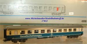 """Märklin 4998 """"Tanzwagen"""", (17032)"""