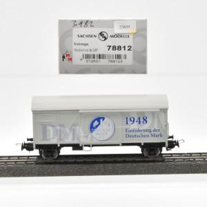 """Sachsenmodelle 78812 Werbewagen """"Abschied von der DM"""", (22655)"""