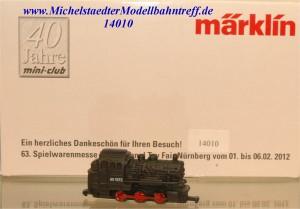 Märklin 8S2012 Spielwarenmesse 2012, (14010)