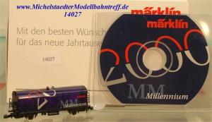 Märklin 8W2000 Gutes neues Jahr 2000, (14027)