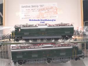 Metropolitan (Metrop) 796 E-Lok Serie Ae8/14 der SBB, Wechselstrom,(13482)