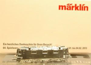 """(Neu) Märklin Z 80123 Messemodell 2013 """"50 Jahre Re 4/4II"""","""