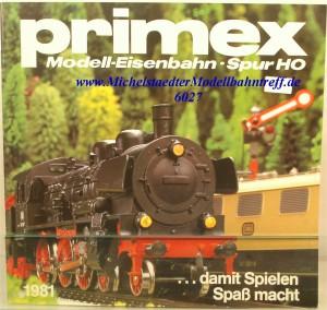 Primex Katalog 1981, (6027)