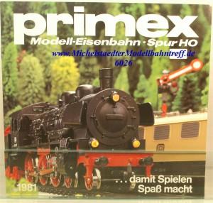 Primex Katalog 1981, (6026)