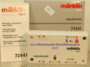 Märklin 72441 Signalmodul, (6113)