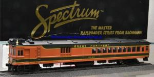 "Bachmann Spectrum 81407 US Triebwagen, Gas Electric ""Doodlebug"" der Great Northern, (18178)"