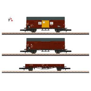 (Neu) Märklin Spur Z 82268 Güterwagen-Set der DR, Ep.IVa,