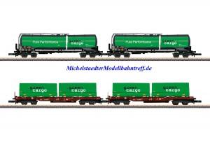 """(Neu) Märklin Spur Z 82533 Güterwagen-Set """"Green Cargo"""" Ep.VI,"""
