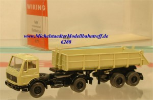 Wiking 677 MB Hinterkipper Sattelzug, (6288)