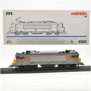 """Märklin 83320 E-Lok Serie BB 22200, SNCF, """"Tunnellok"""",  (21507)"""