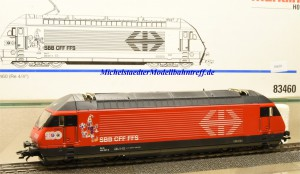 "Märklin 83460 E-Lok Serie 460 SBB, ""Joggeli"", (10630)"