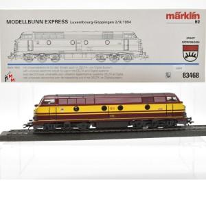 "Märklin 83468 Diesellok Serie 1800 CFL ""Modellbunn Express"", (25204)"