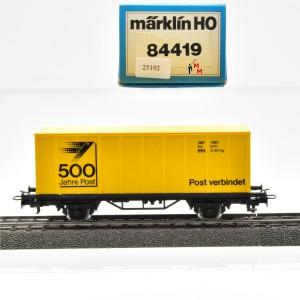 """Märklin 4481/90701 Sonderwagen """"500 Jahre Post"""", (25192)"""