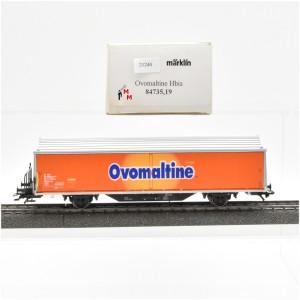 """Märklin 84735/19 Hbils-Wagen der SBB, """"Ovomaltine"""", (21244)"""