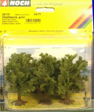 (Neu) Noch 25110 Obstbäume, grün, H0,TT,