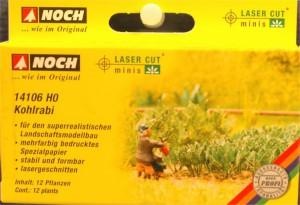 """(Neu) Noch 14106 Laser Cut """"Kohlrabi"""", H0,"""