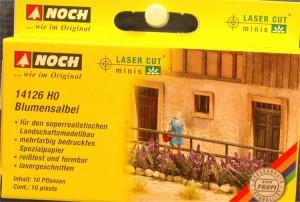"""(Neu) Noch 14126 Laser Cut """"Blumensalbei"""", H0,"""