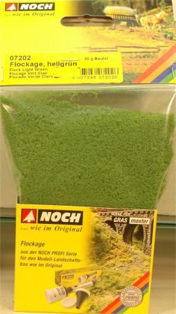 (Neu) Noch 07202 Flockage, hellgrün,