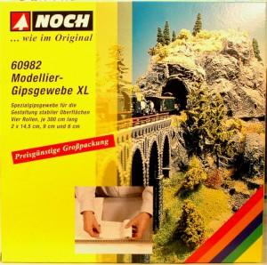 (Neu) Noch 60982 Modellier-Gipsgewebe XL,
