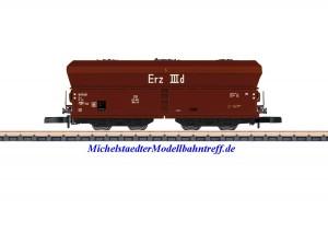 (Neu) Märklin 86308 Spur Z Offener Selbstentladewagen, DB, Ep.IIIa,
