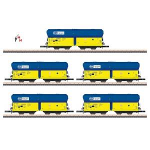 (Neu) Märklin Spur Z 86311 Selbstentladewagen-Set der PKP Ep.VI,