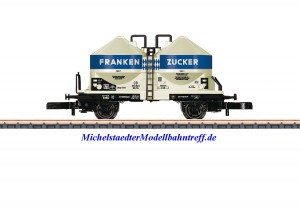 """(Neu) Märklin 86667 Spur Z Staubsilowagen """"Frankenzucker"""", DB, Ep.III,"""