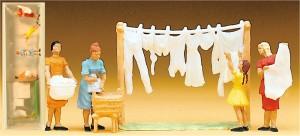 (Neu) Preiser 14050 Wäscherinnen,
