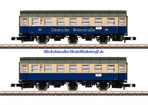 (Neu) Märklin Spur Z 87073 Wagenpaar Deutsche Weinstraße Ep.IV,