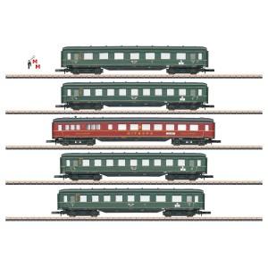 (Neu) Märklin Spur Z 87352 Schnellzugwagen-Set  DRG, Ep.II,