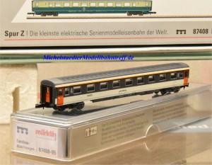 (Neu) Märklin MHI 87408-05 Spur Z Reisezugwagen der SNCF, 2. Kl.,