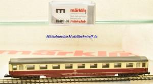 (Neu) Märklin 87409-06 Spur Z Eurofima Personenwagen, 1.Kl., DB,
