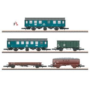 (Neu) Märklin Spur Z 87761 Wagenset Gleisbauzug der DB,