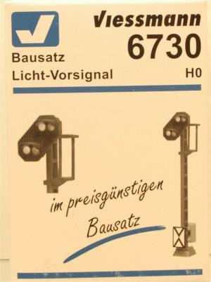 (Neu) Viessmann 6730 Bausatz Licht-Vorsignal, H0,