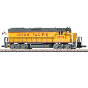 (Neu) Märklin Spur Z 88616 Diesellok GP 38-2 der Union Pacific, Ep.IV,