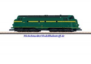 (Neu) Märklin 88634 Spur Z Diesellok Serie 54 der SNCB, Ep.IV,