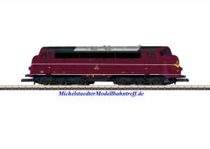 (Neu) Märklin Spur Z 88637 Diesellokomotive Reihe MV DSB, Ep.IV,
