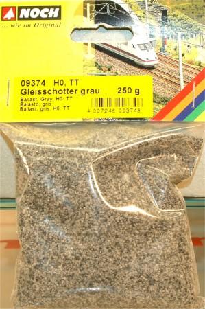 (Neu) Noch 09374 Gleisschotter, grau, H0,TT,