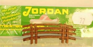 (Neu) Jordan Nr. 22, Holzbrücke, H0,